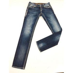 Rock Revival Elaina Skinny Embellished Jeans 28